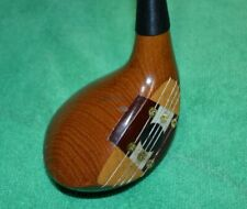 Vintage Cleveland Classic Usa Persimmon 3 Wood Rh Oil Hardened Tc15
