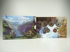 *** NORVEGIA CORONE KMS 1998 Coin Set Norway CORSO set di monete non monete metalliche in euro **