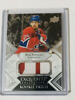 2019-20 EXQUISITE ROOKIE PATCH /299 RYAN POEHLING CANADIENS