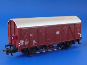 MARKLIN H0 - 4411 - Freight Car with Tail Lights / EXC