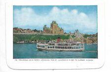 Folkard Card QUEBEC QC CANADA Traverse Levis Ferry