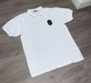 Authentic BAPE Men's Polo Collar Shirt - White - Size L