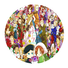 Axis Powers Hetalia Circle Round Mousepads