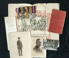 More details for ww1/ww2 wounded officer's archive, medals, photos & documents