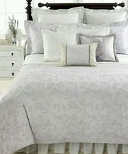 Martha Stewart Serenade Quilted Standard Pillow Sham in Muted Silver bedding $80