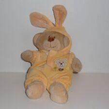 Doudou Ours Nicotoy - Déguisé en lapin