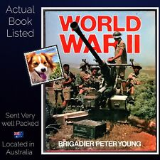 World War II Brigadier Peter Young Hardcover Illustrated  Bison Books 1987 VG++