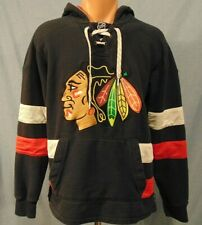 Chicago Blackhawks NHL Sweatshirt Mens S Hooded Official Vintage Apparel CCM