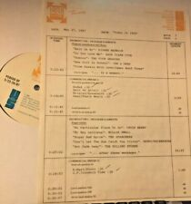 RADIO SHOW: 5/27/87 TODAY 64 DC5, 4 SEASONS, CHUCK BERRY, ROY ORBISON,DIXIE CUPS