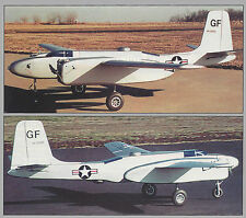 Giant Sport Scale Douglas A-26 Invader Plans,Templates and instructions