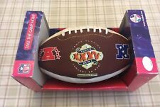 SUPER BOWL  XXXV OFFICIAL NFL FOOTBALL - LIMITED EDITION OF 10,000