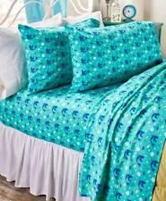 Twin Mermaid Printed Sheet Sets Novelty Coastal Nautical Mermaid Sheet Set
