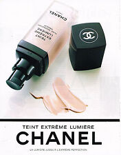 PUBLICITE ADVERTISING 104  1994  CHANEL  cosmétiques  EXTREME LUMIERE