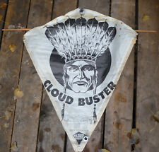 Vintage Paper Kite Indian Headdress Cloud Buster