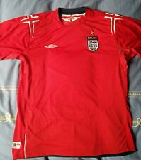 camiseta jersey shirt maillot maglia trikot UMBRO ENGLAND AWAY INGLATERRA XL