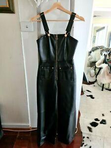 Alice Mccall Women Heartbreaker leather jumpsuit - Size 6