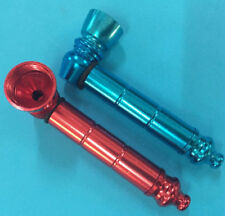 (((set Of 2 Pcs)))ANODIZED ALUMINUM pipes for tobacco