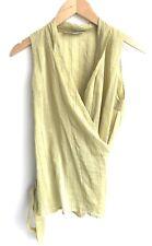 Etro Size 40 Green Sleeveless Blouse