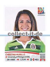 Panini Frauen WM World Cup 2015  - Sticker 466 - Christina Murillo