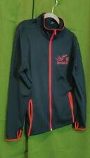 """SPORT-TEK """"Open Road Girl"""" Jacket S XL Navy Blue Red Trim Front Zip"""
