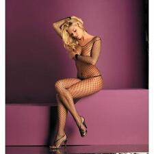 Fantasy Lingerie Net Open Crotch Body Stocking
