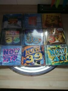 JOB LOT OF MUSIC CD`S,NOW THAT`S WHAT I CALL MUSIC 32.33.34.35.36.37.38.39.40
