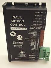 Galil 25A8E-GAL PWM Brush Servo Amplifier 25A8  MSA-12-80  3 mA out