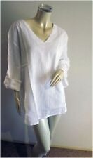 3/4 Sleeve Tunic Plus Size 100% Cotton Tops & Blouses for Women