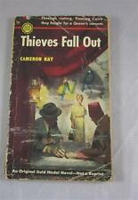 THIEVES FALL OUT CAMERON KAY GORE VIDAL ALIAS 1953 GOLD MEDAL #311 1ST ED PBO