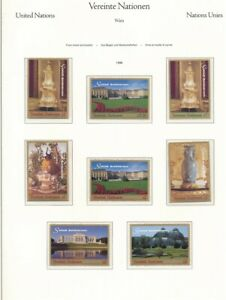 D209182 United Nations Vienna Bureau 1998 Nice Selection of MNH Stamps