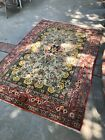 Exquisite Sami Antique Hand Knotted Wool & Silk Rug