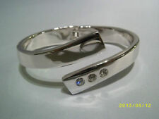 Orecchini di bigiotteria ovale in argento