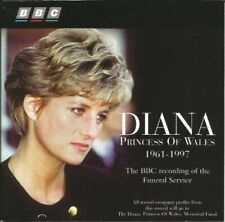 Diana (Princess of Wales 1961-1997) BBC recording of the funeral service [CD]