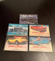 Crusin' Classics, Shell Cassette Tapes lot of 5. Volume II, III, IV, V & VI