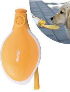 Mango Shape Dog Water Bottle Portable Water Dispenser Water Bowl For Pets (10oz)