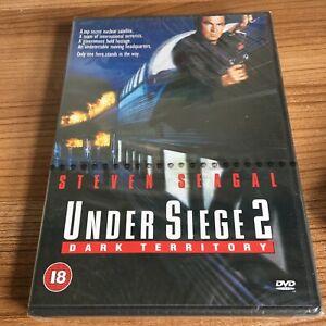 Under Siege 2 Dark Territory DVD (1999) Steven Seagal NEW & SEALED Cert 18 Reg 2