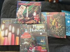5 Christmas Holiday LP Albums Christy Lane, True Value, Jesse Crawford Chimes
