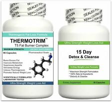 FAT BURNERS & DETOX CLEANSE Diet Pills Strong Slimming Weight Loss Tablets