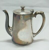 Vintage silver plated COFFEE POT  Red Rose Hotel Bradleigh Sheffield EPNS