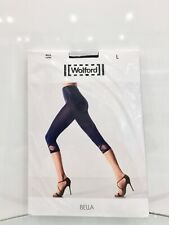 Wolford Bella Capri Leggings Black Brand New in packet