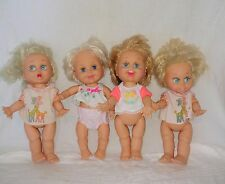 Vintage Galoob Baby Face Dolls (Lot of 4)