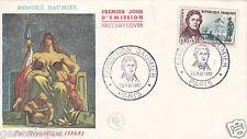 ENV EMISSION 1er JOUR HOMMAGE HONORE DAUMIER 1848