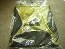 "ADIDAS ""Bolt Sackpack"" Backpack Vivid Yellow, Black & Silver Medium NWT/NIP"