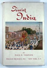 TOURIST INDIA Paul E Vernon (1942) - 1ST EDITION - LIMITED EDITION - SIGNED