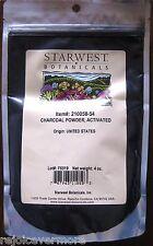 4oz Charcoal Powder Food Grade (Activated) Natural Heavy Metal &Toxines Detox