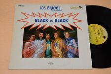 LOS BRAVOS LP BLACK IS BLACK-ITALY 1977 NM ! AUDIOFILI ESIGENTI TOP NM !!!!!!!!!