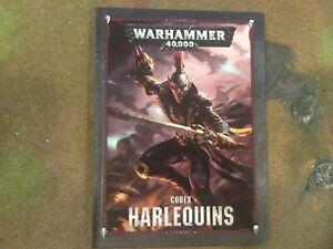 WH40K 8th Edition Codex Harlequins Eldar