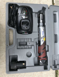 """ACDelco 3/8"""" Ratchet Cordless 12V Angled Impact Wrench 55 Ft Lb Tool St ARW-1208"""