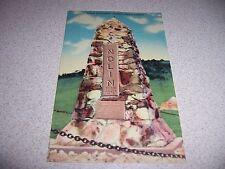 1940s NOLIN MONUMENT STURGIS SOUTH DAKOTA SD. LINEN POSTCARD