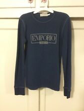 Emporio Armani long sleeve t shirt Size Small. Made In Italy. Rp: 375$